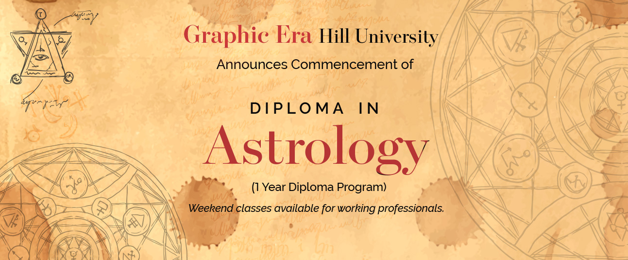 Graphic Era Diploma in Astrology